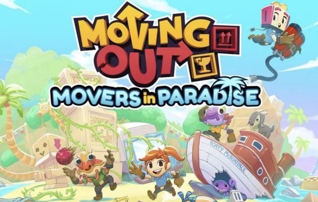 [TEST] MOVING OUT - DLC MOVERS IN PARADISE XBOX SERIES X : Y a du soleil et des démanagements dingos... Tra la dire la dada...
