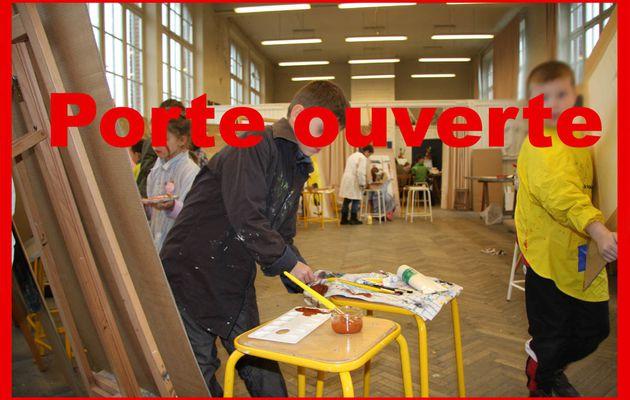Porte ouverte à l'école Maurice Quentin De La Tour