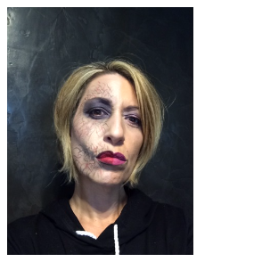 Look du jour Halloween by Claire Ducrot make-up