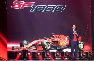 "Elkann : Ferrari veut ""regagner en 2022"""