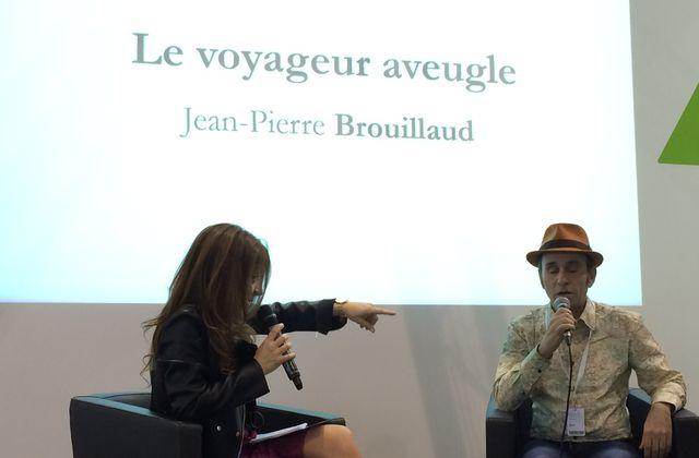 Jean-Pierre BROUILLAUD, écrivain voyageur aveugle et aussi...conférencier