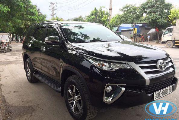 Cho thuê xe fortuner 7 chỗ đi tỉnh với giá khoảng 1,5 triệu tại Vân Hải