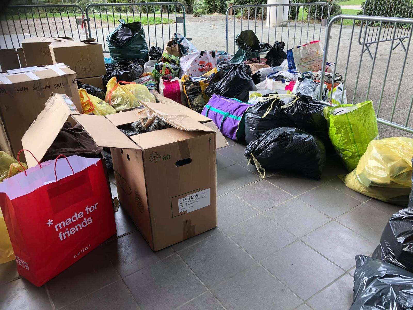 Tempête Alex - Besoin de bénévoles pour collecter, trier les dons et les acheminer