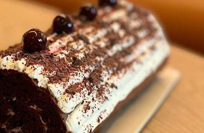 Recette : Bûche de Nöel chocolat By Cyril Lignac