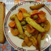 Plateau repas végétarien pour soirée en terrasse - Chez Mamigoz