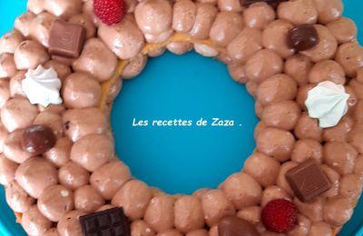 Letters Cake à la pâte à tartiner