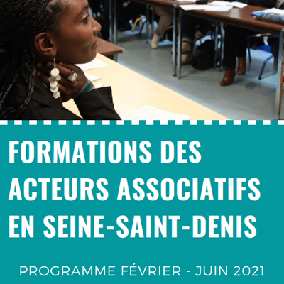 FORMATIONS DES ACTEURS ASSOCIATIFS - 1er SEMESTRE 2021