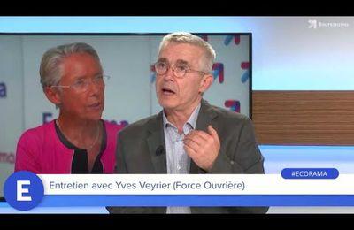 Yves Veyrier, Secrétaire général de FO, était l'invité de David Jacquot