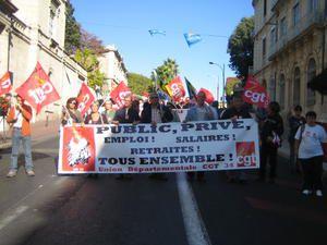 18 octobre 2007 - Montpellier : la manif !