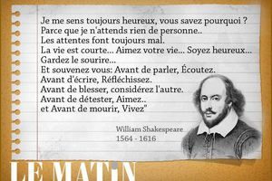 William Shakespeare - 14 Citations