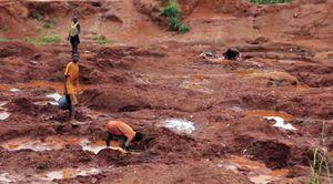 Enfants travailleurs des mines de diamants