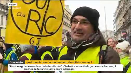 Le mouvement des gilets jaunes a-t-il encore un avenir après l'essoufflement des manifestations d'hier ?