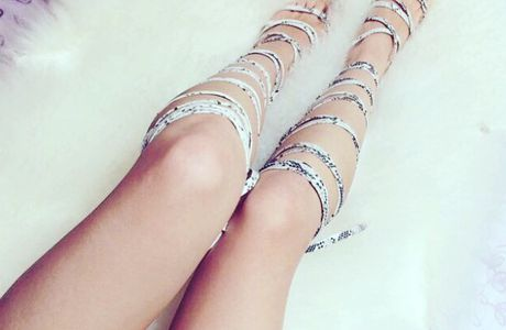 Mes chaussures JustFab.