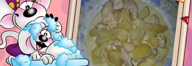 Poulet pommes de terre au reblochon