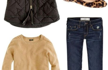 Fall outfit, camel t