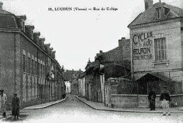 1960... ma rentrée au Lycée de Loudun...