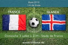 Pronostic France-Islande quart de final Euro 2016 3 juillet 21h Stade de France