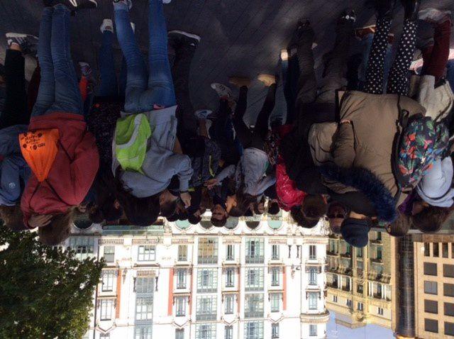La rencontre avec les élèves de l'Instituto Antonio Tovar à Valladolid