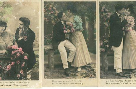 Petits paratge d'images : l'amour de georges Guerche...