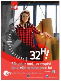 32 h ! Travailler moins, travailler mieux, travailler toutes et tous !