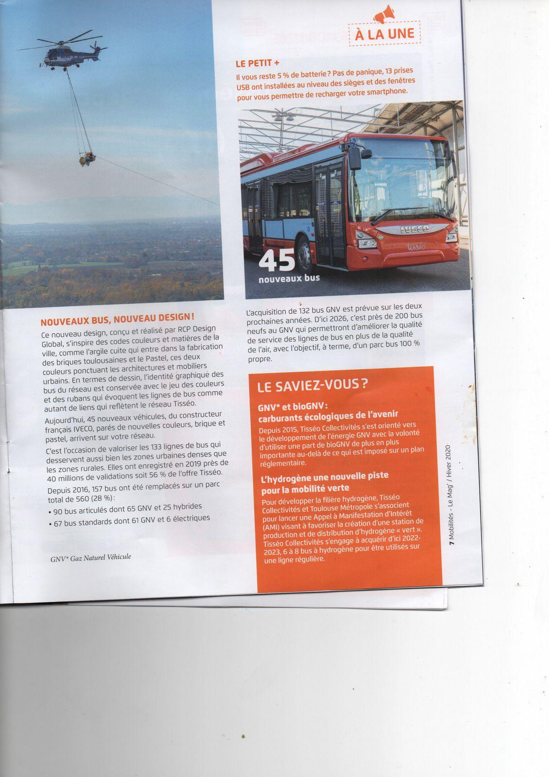 A Toulouse, ça roule pour TISSEO avec les bus au GNV et bientôt à l'Hydrogène