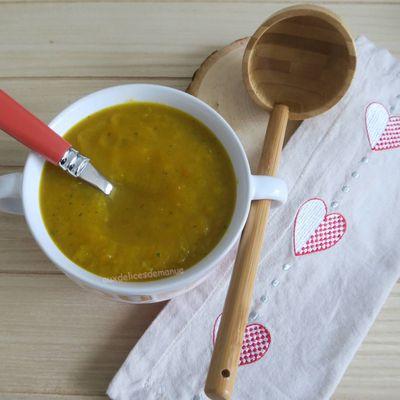 Soupe de potimarron et légumes, au Cookéo ou pas