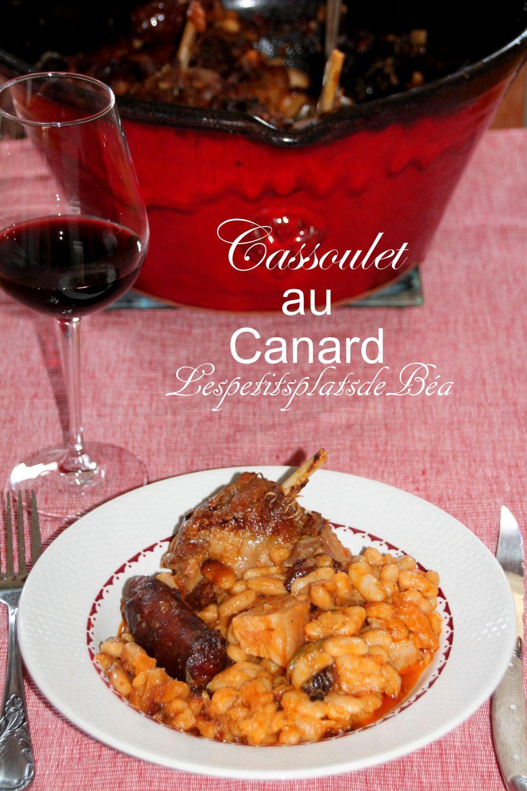 Cassoulet au canard - balade occitane