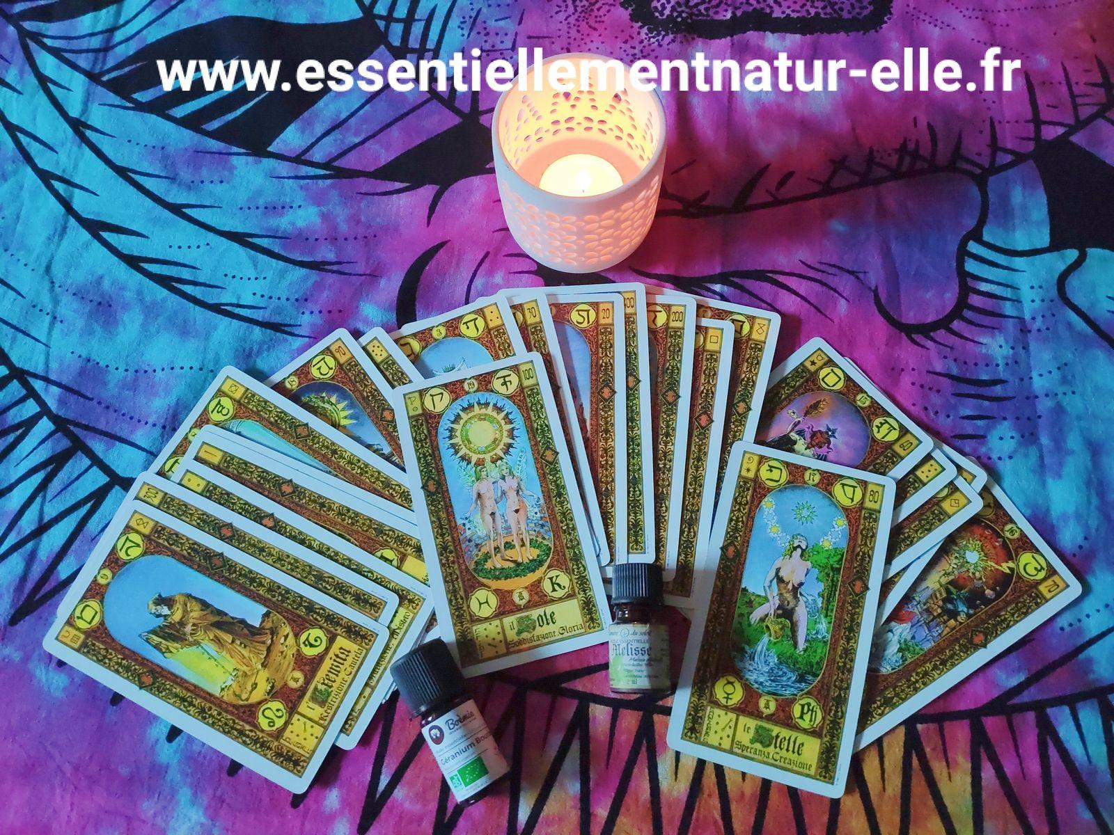 Tarot de Marseille et aromathérapie énergétique