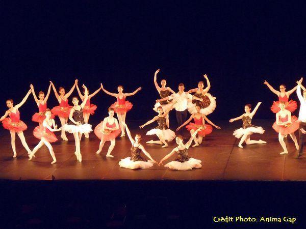 Spectacle de danse 2016 du Conservatoire de Gap