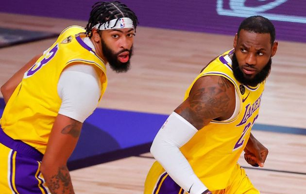 Les Lakers mènent 1-0 face au Miami Heat, Jimmy Butler, Goran Dragic et Bam Adebayo blessés