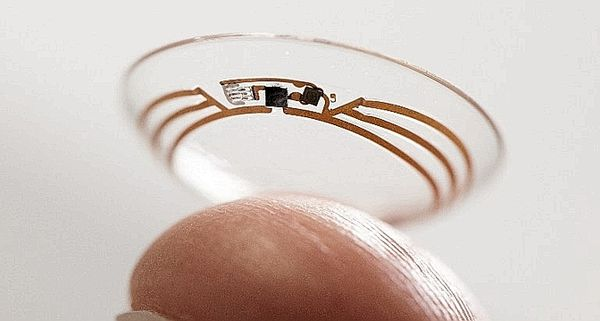 Smart Contact Lens by Google