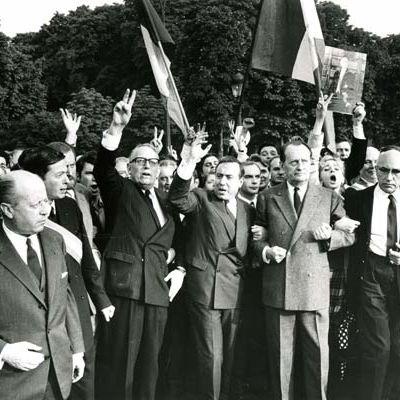 De Gaulle siffle la fin de la partie