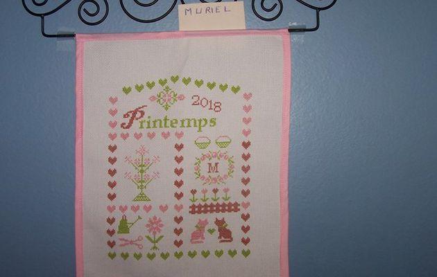 SAL PRINTEMPS 2018 : Les premières finitions