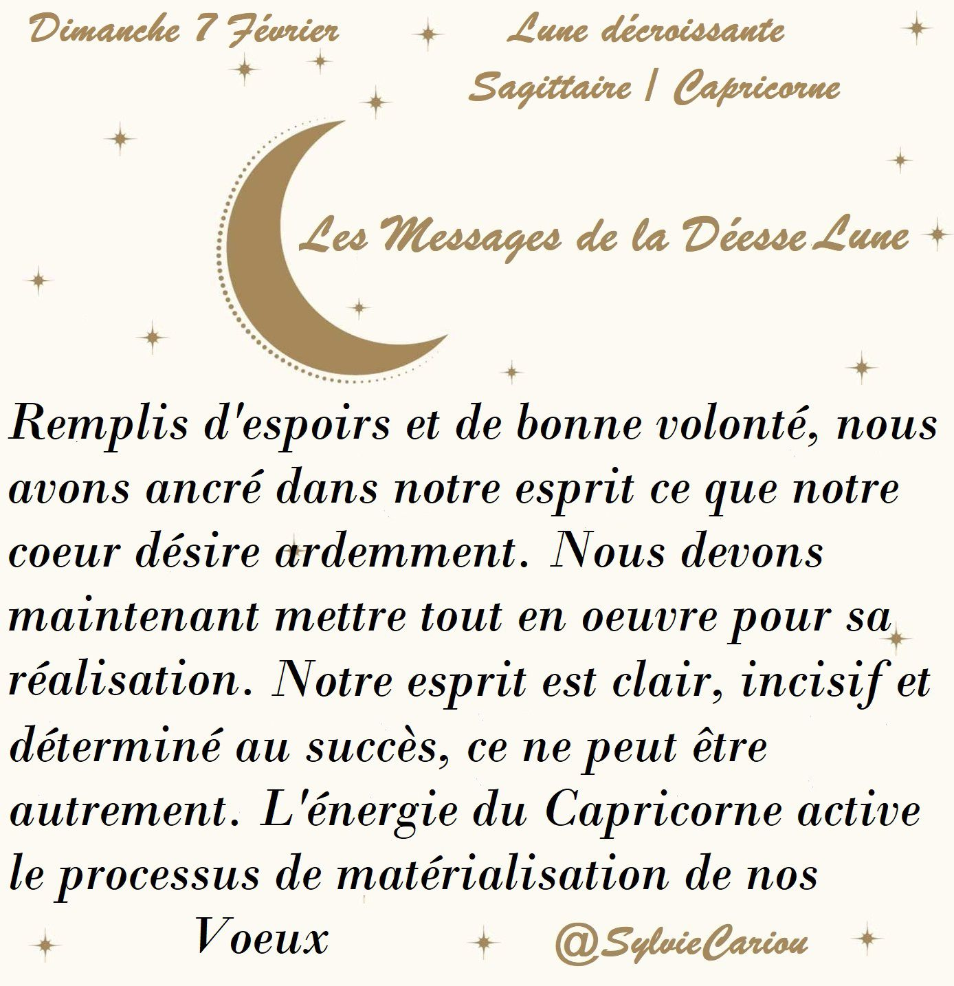 MESSAGES CELESTES 7 FEVRIER 2021