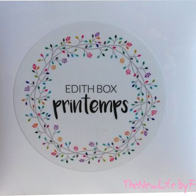 ❀ La 1ère Edith box pour le printemps  ❀