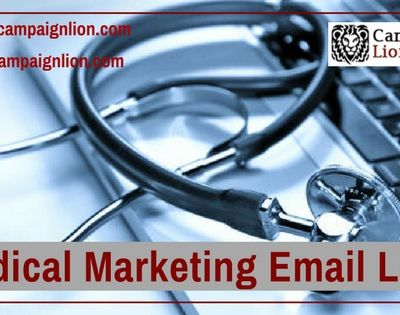 Achieve your Right Audience by purchasing Medical Marketing Email Lists