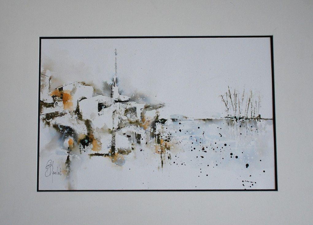 Bernard Neulat expose au festival Landes aquarelle du 12 au 20/09/2020 Morcenx 40110