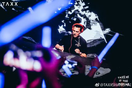 Tiësto photos, vidéo | TAXX | Shanghai, China - september 21, 2018