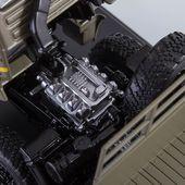 "SSM1243 KAMAZ-43502 ""Mustang"" (facelift) /khaki/ * SSM"