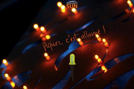 MIDLIGHTSUN-éclairage LED sans fil