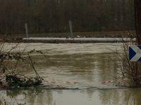 La Seine débordant à nouveau