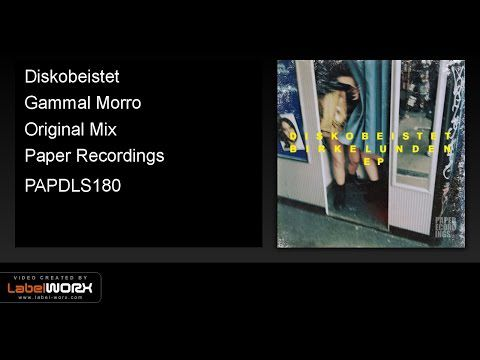 Diskobeistet - Gammal Morro (Original Mix)