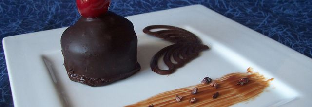 Pavés chocolat cerise