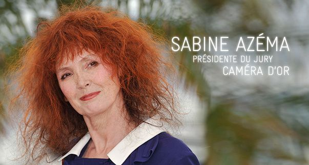 Cannes 2015 : Sabine Azéma, présidente du jury de la Camera d'or