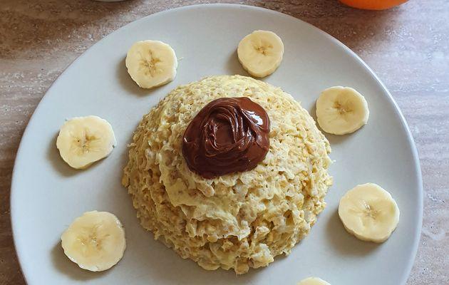 Bowl cake banane pâte à tartiner