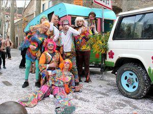 CÉRET, carnaval 2015 (2ème cavalcade)