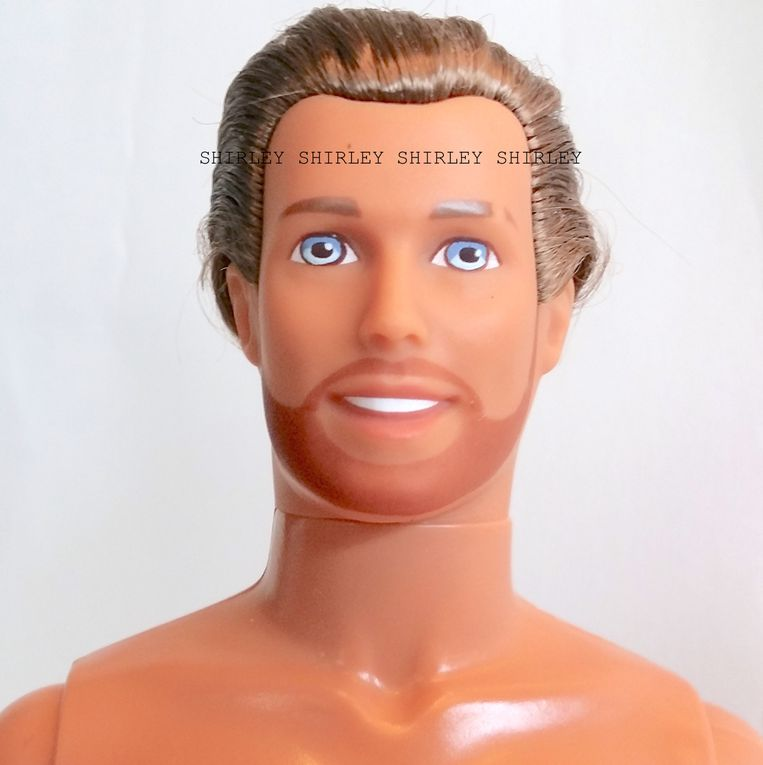 """SHAVING FUN"" KEN DOLL 1994 MATTEL #12956"