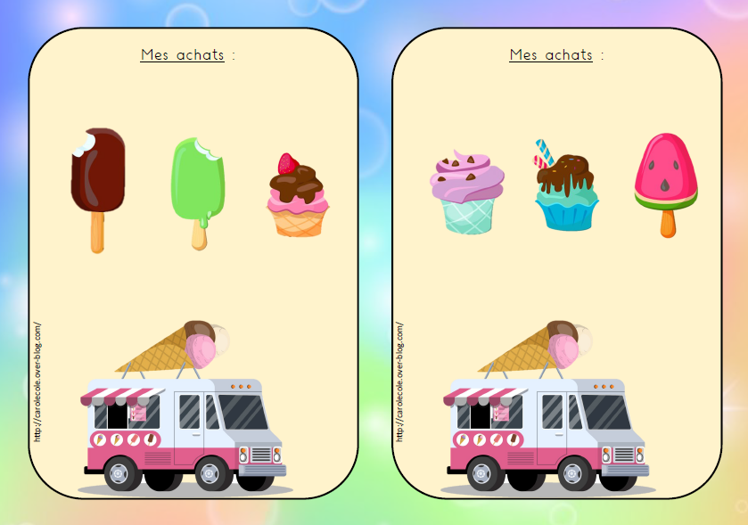 Le marchand de glaces