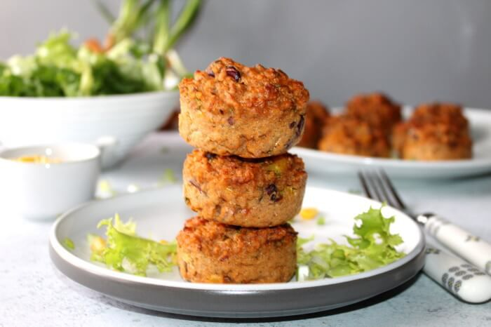 muffins-vegetarien-haricots-mais-quinoa