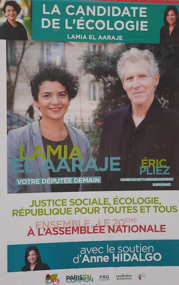 «Résultats du 2ème tour de la législative partielle du 20ème arrondissement : Mme Lamia EL AARAJE, est élue députée de Paris à 56,56% et Leadership national de Mme Anne HIDALGO» par Amadou Bal BA - http://baamadou.over-blog.fr/